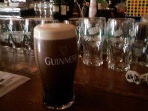 Guinness at Biddy's